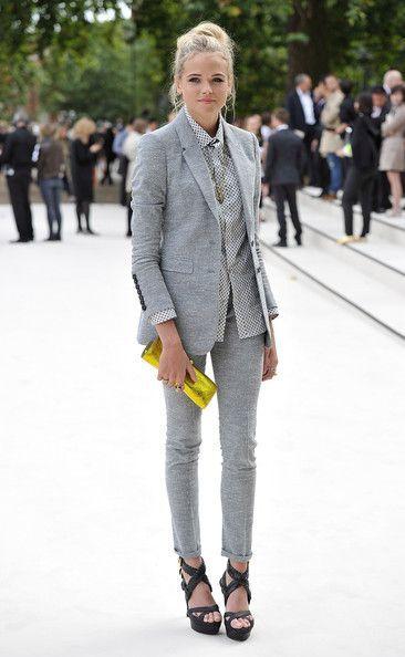 Grey blazer & pant