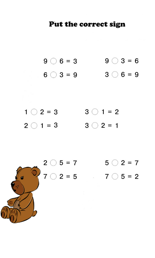 1st Grade Addition And Subtraction Free Math Worksheets Basic Math Basic Math Skills