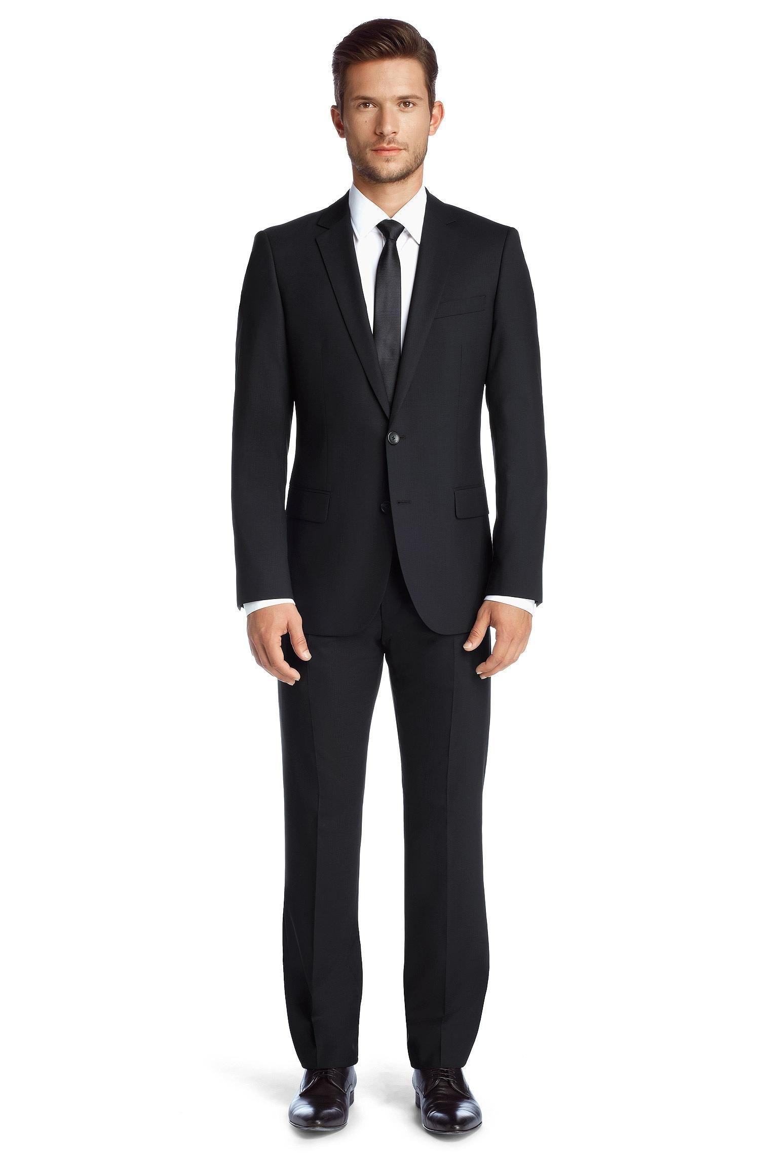 hugo boss slim fit suit amaro heise my style slim. Black Bedroom Furniture Sets. Home Design Ideas