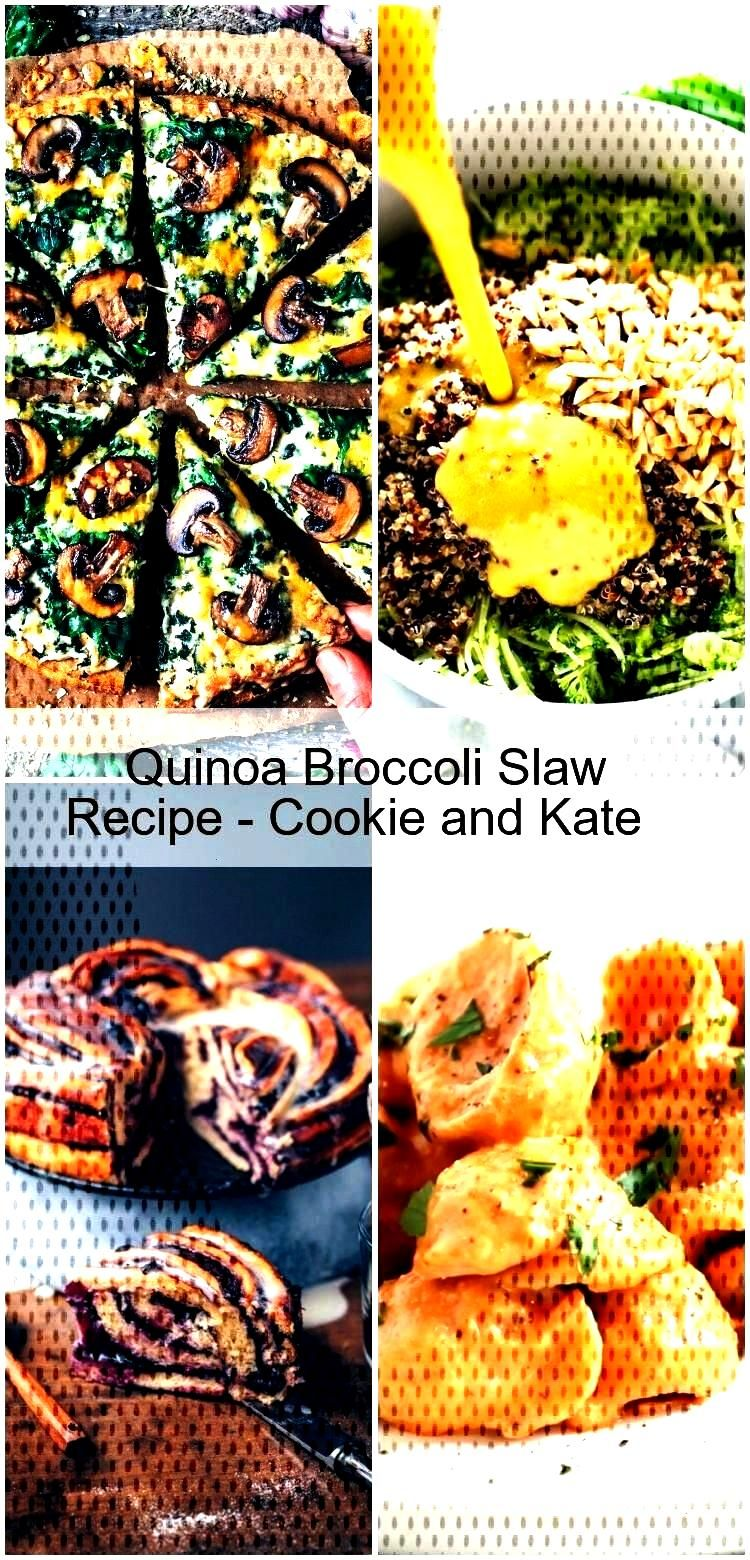 Quinoa Broccoli Slaw Recipe - Cookie and Kate Quinoa Broccoli Slaw Recipe - Cookie and Kate, Quinoa
