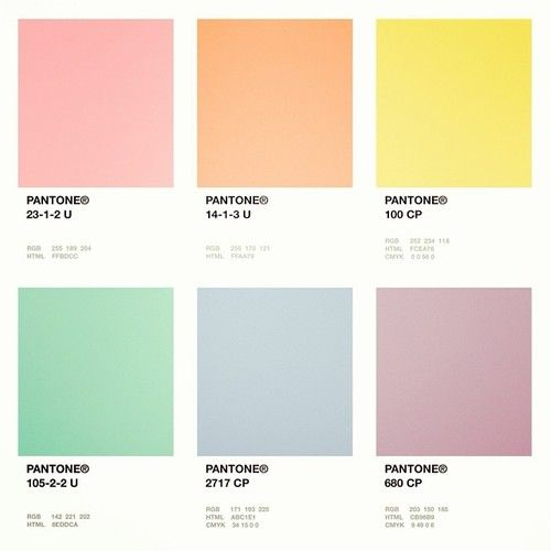 pantone | Mi paleta | Pinterest | Pantone