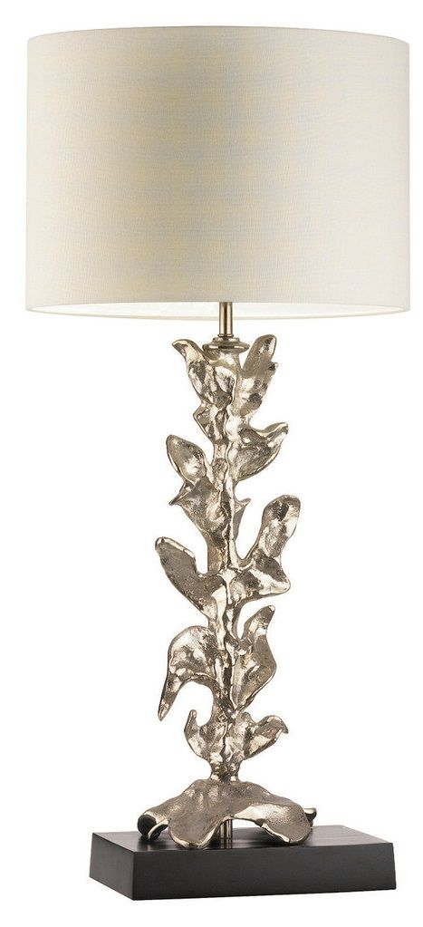 silver silver table lamp, table lamps