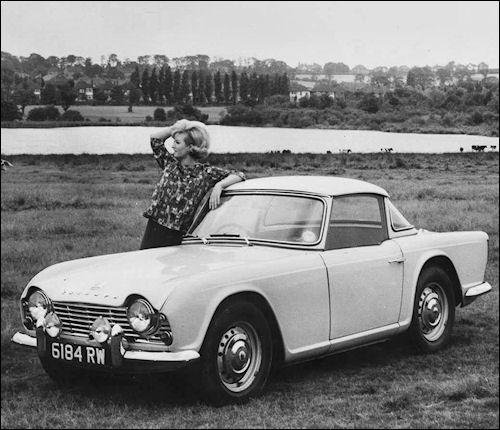 1964 Triumph TR4 Hardtop   Triumph   Antique cars, Classic