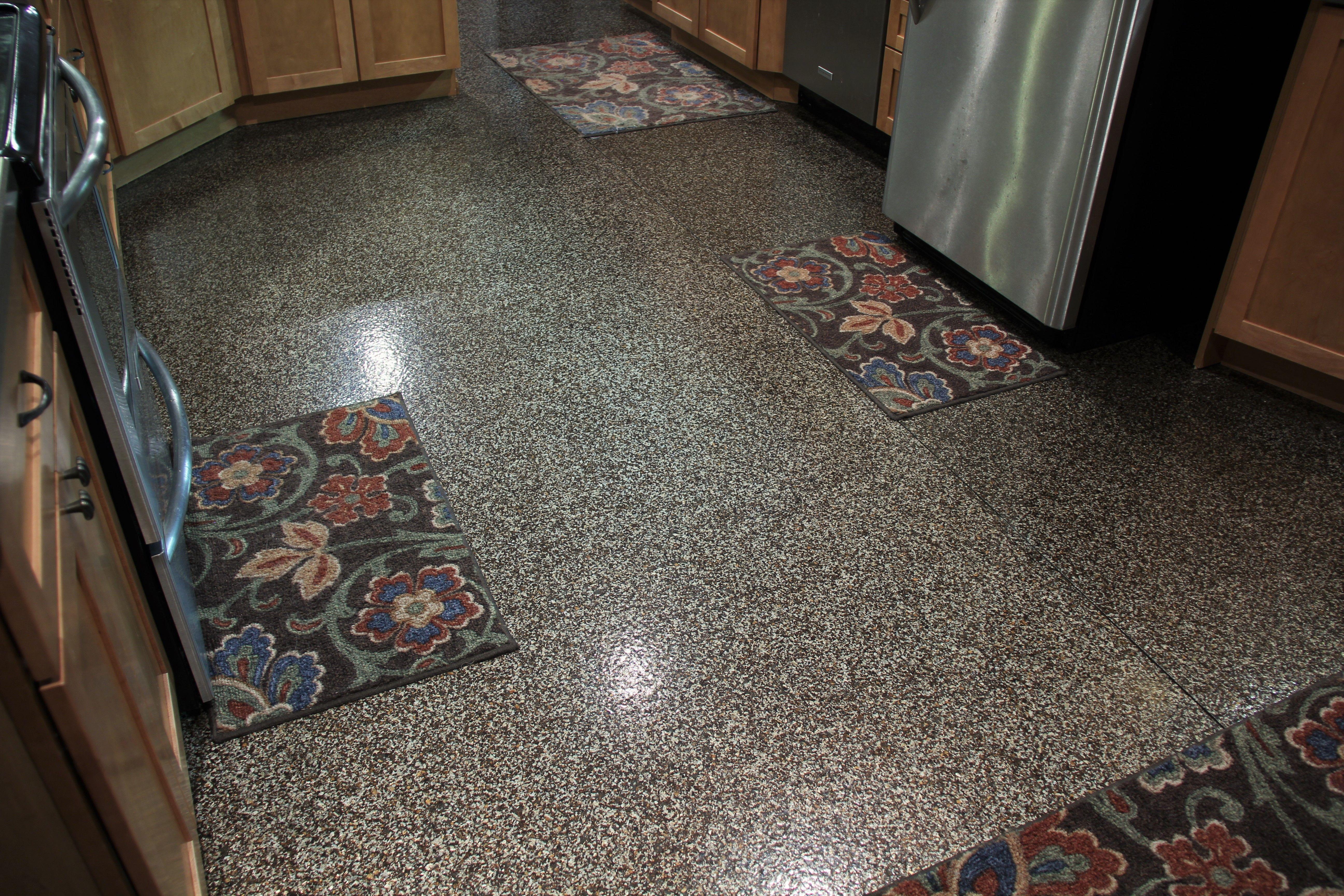 Hp Spartacote Mica Polyaspartic Shaved Crystals Floor Coating