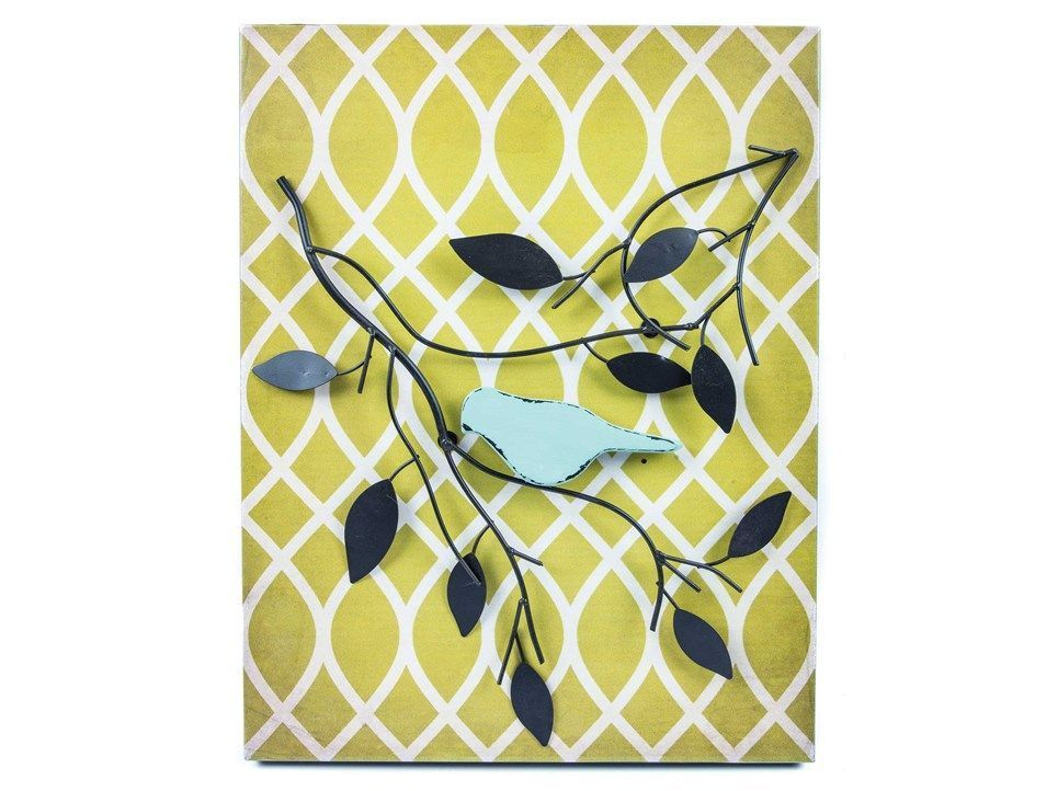Metal Bird & Branch Wall Decor | Metal Wall Art | Pinterest | Bird ...