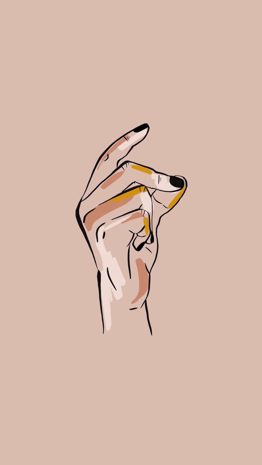 Арт Иллюстрация. Феминистское искусство. Визуал для Instagram. Обложки для Highlights Instagram
