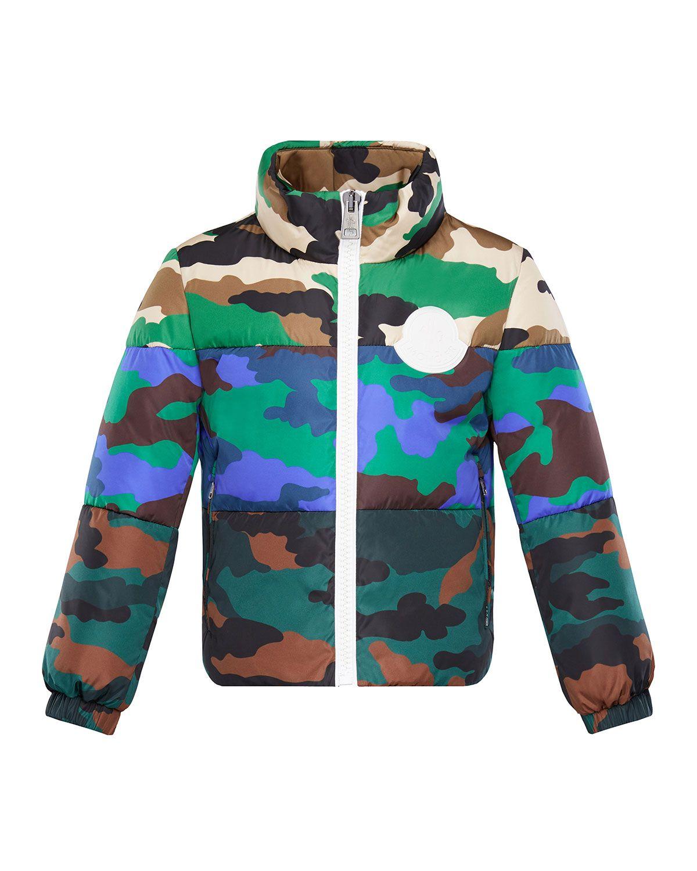 Marchaud Mixed Camo Print Puffer Jacket Camo Jacket Moncler Jacket Camo Print [ 1500 x 1200 Pixel ]