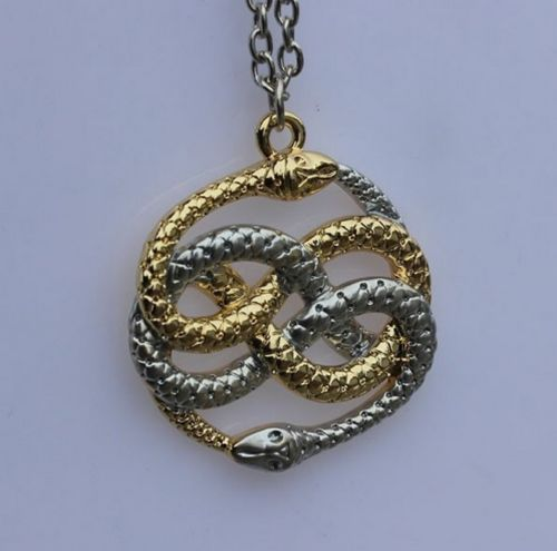 The neverending story necklace bling pinterest snake the neverending story necklace mozeypictures Choice Image