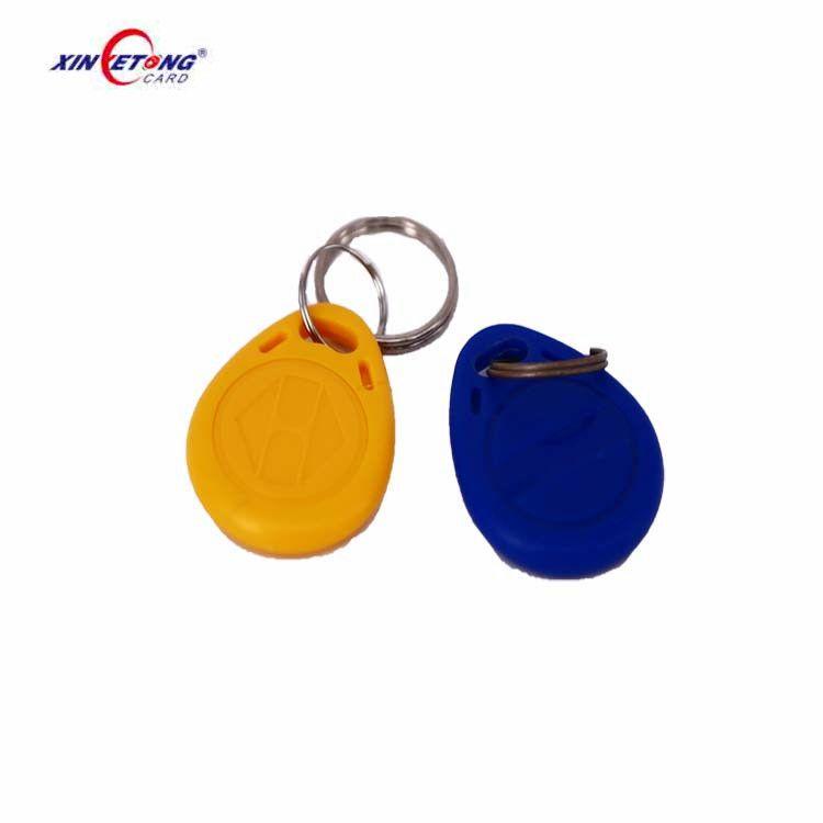 Rfid Mf Classic Ev1 1k Plastic Door Lock Rfid Key Fob Ring Tags For Access Control System Access Control System Rfid Key Fobs