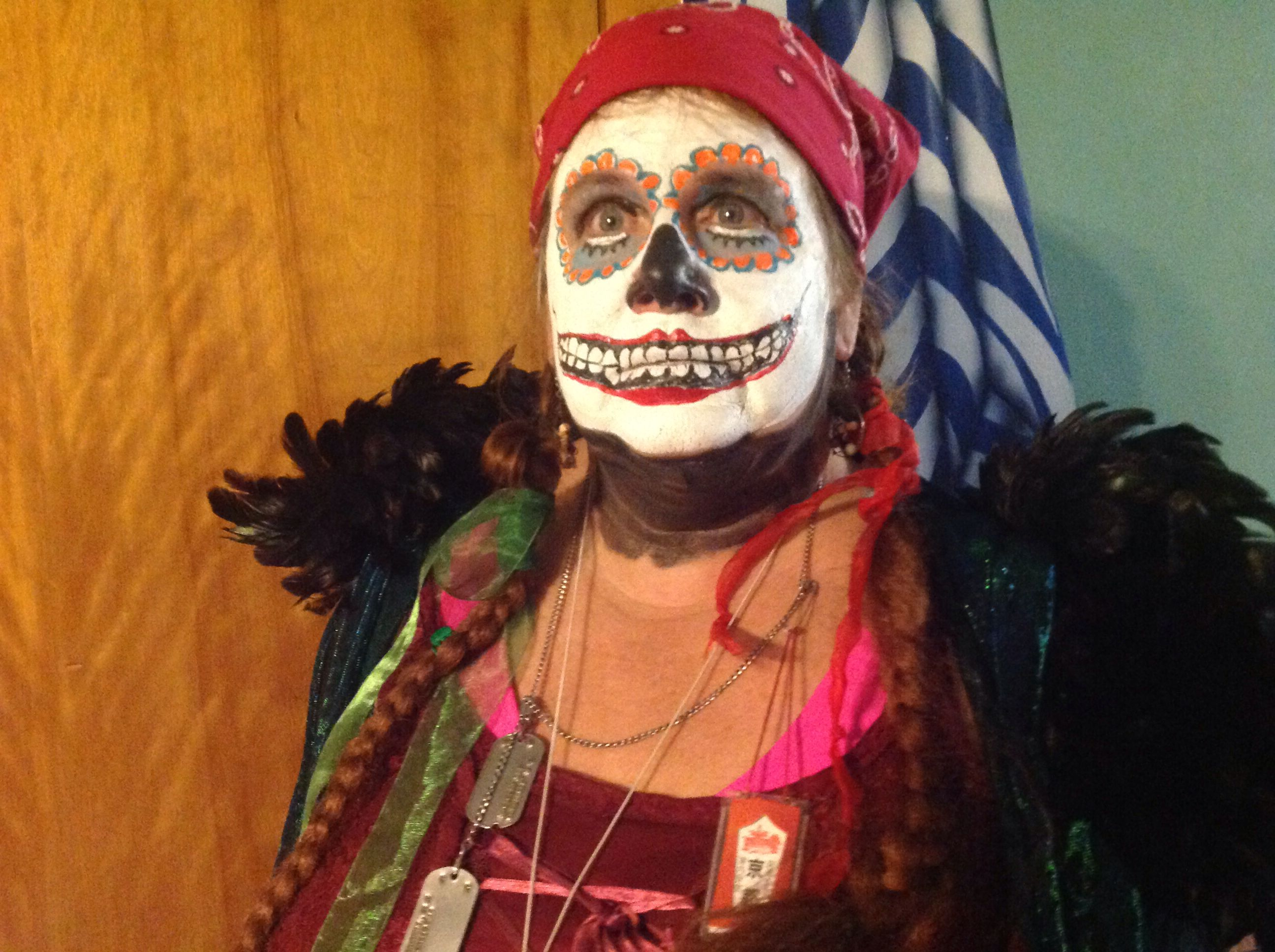 Madame Katdazzle, tarot card reader, Brinton Lodge haunted house, 1808 W. Schuylkill Rd, Douglassville, pa