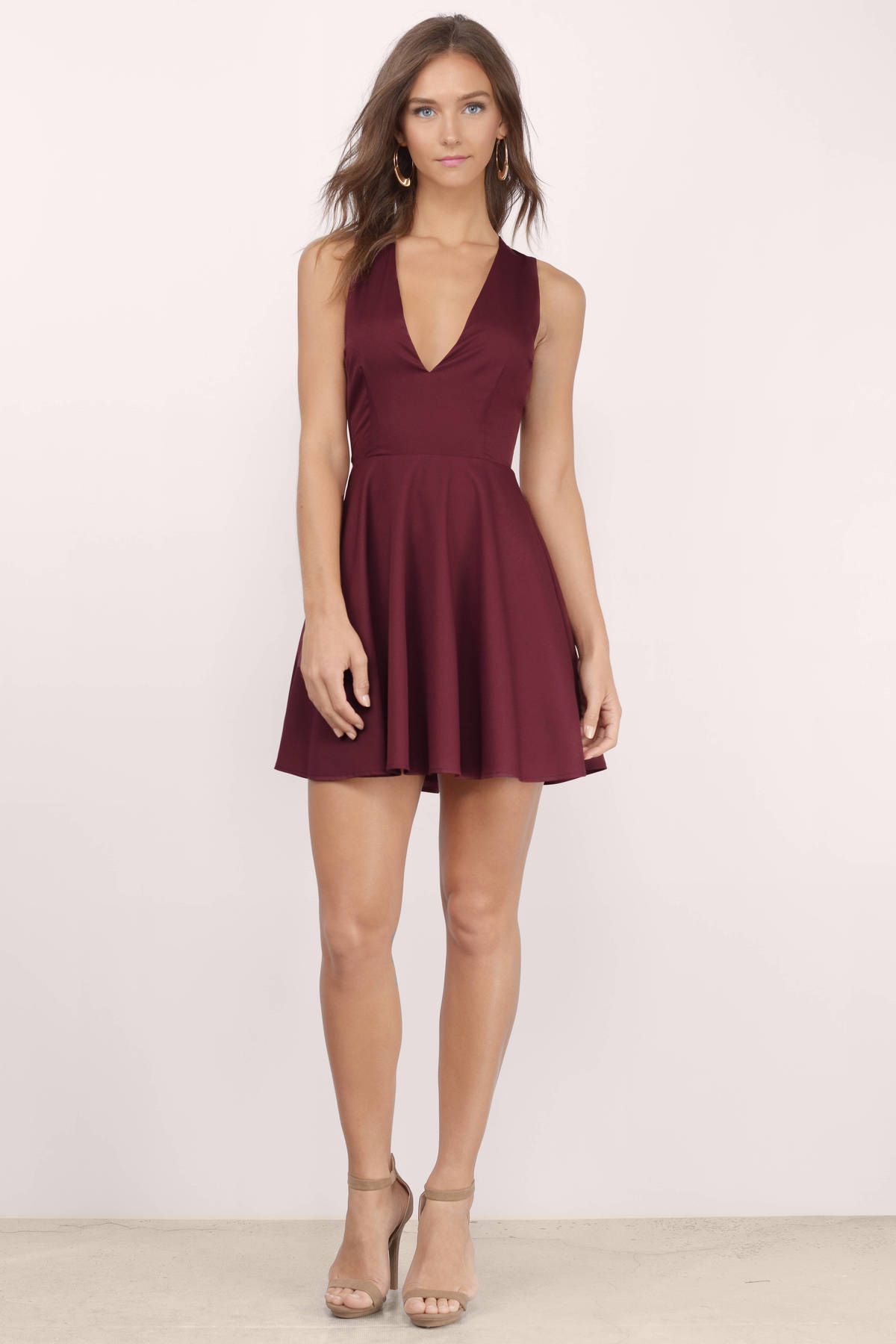 bf7a4cbb3c Andie Open Back Skater Dress