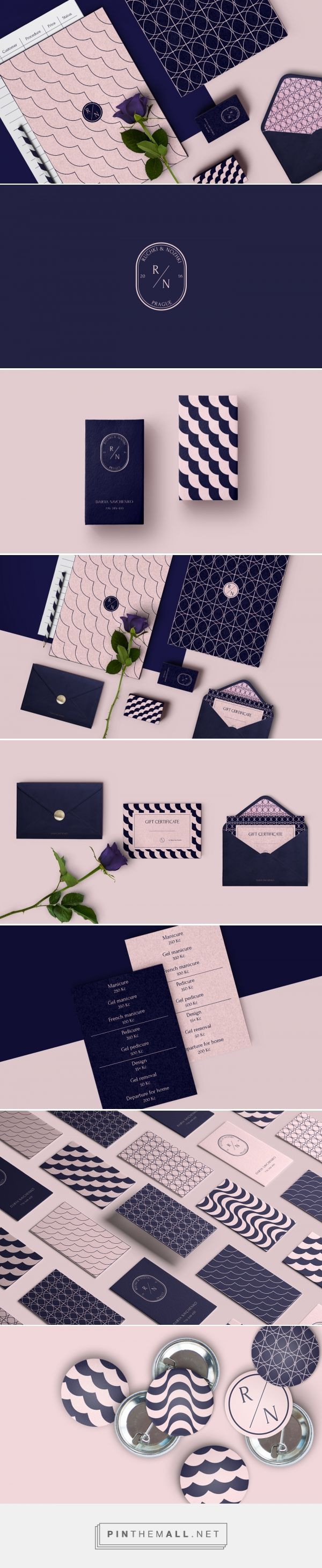 Ruchki Nozhki Nail Spa Branding By Dima Sushko Identity Design Logo Branding Design Inspiration Graphic Design Branding