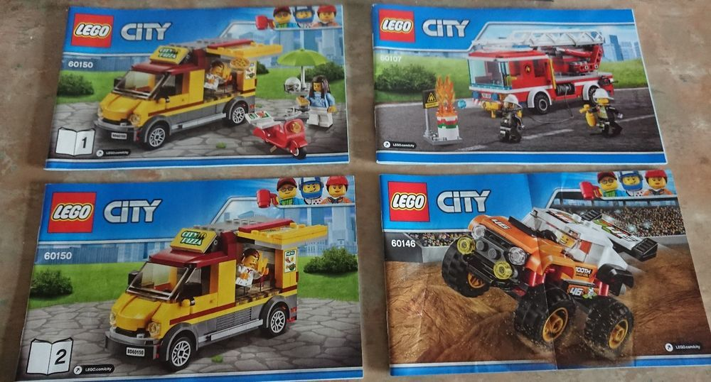 Lego City Lot Building Instruction Booklet Lot X 3 Lego Ebay