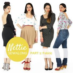 Nettie sewalong by Closet Case Files - Choosing Fabric