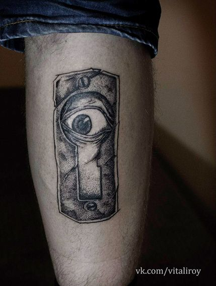 ROY Tattoo. Hole