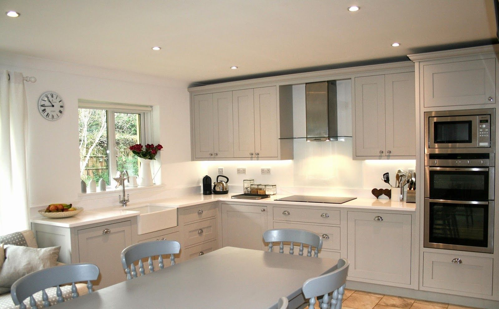 Best French Grey Kitchen Grey Kitchen Blue Kitchen Decor 400 x 300
