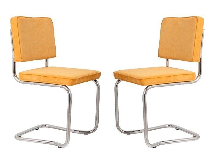 Ridge Kink Rib Stühle Esszimmer Büro Freischwinger 2er Set Zuiver