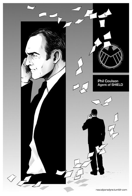 Agents Of Shield Fanart Director Phil Coulson Marvel