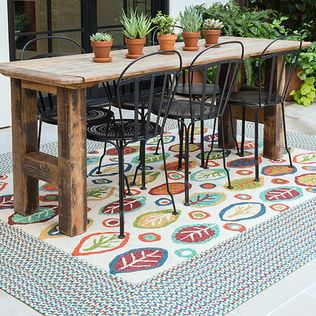 Print Parade: Outdoor Rugs