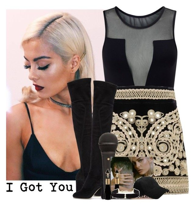 "510->""I Got You"" by Bebe Rexha by dimibra on Polyvore featuring polyvore fashion style Varley For Love & Lemons Dolce&Gabbana Anissa Kermiche rag & bone Bebe clothing music New video stage beberexha"