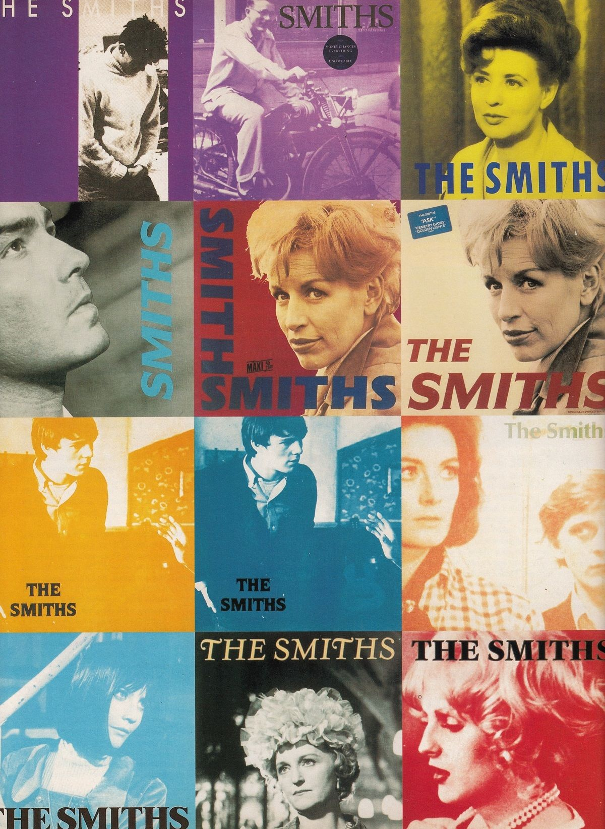 The Smiths cover artwork