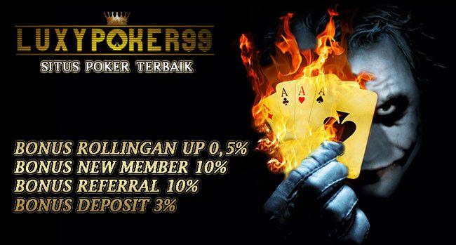 Dapatkan sekarang bonus di situs poker online indonesia terbaik yang dapat anda gunakan bonus nya untuk bermain poker online indonesia dengan aman.