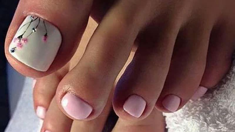 20 Cute And Easy Toenail Designs For Summer Cute Toenail Designs Easy Toe Nail Designs Summer Toe Nails