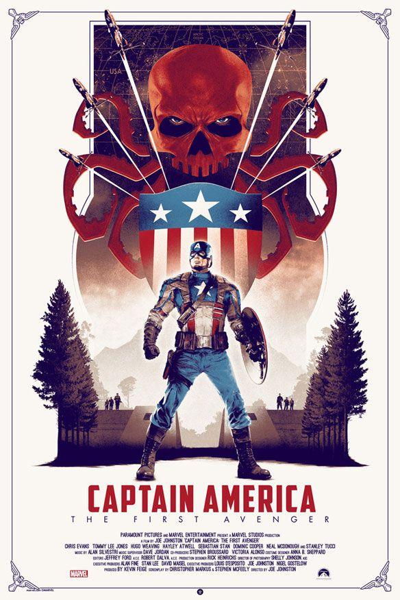 Captain America: The First Avenger Art Prints by Matt Ferguson