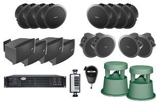 Bose Restaurant Sound System Indoor Outdoor Zones Audio In