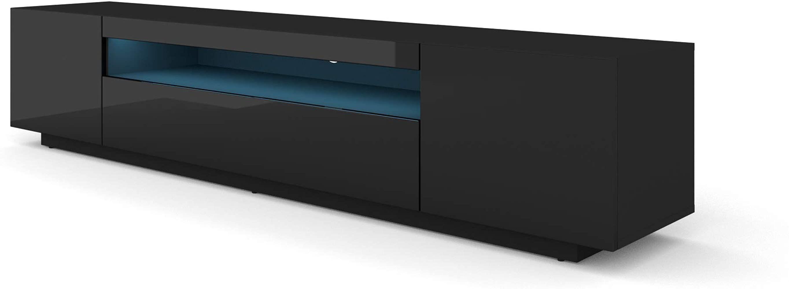 Bim Furniture Lowboard 200 Cm Tv Schrank Solo Unterschrank Mit Led