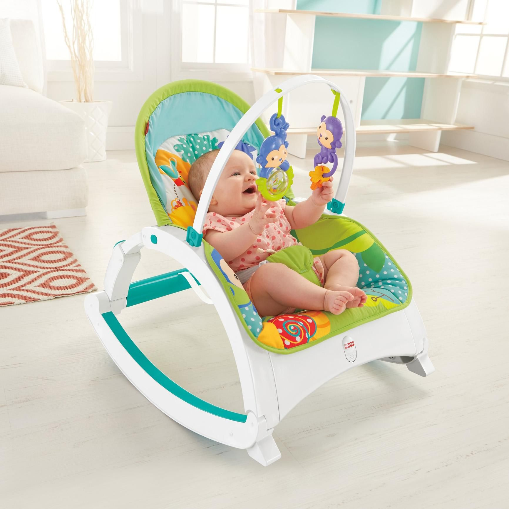 Amazon Com Fisher Price Newborn To Toddler Portable Rocker