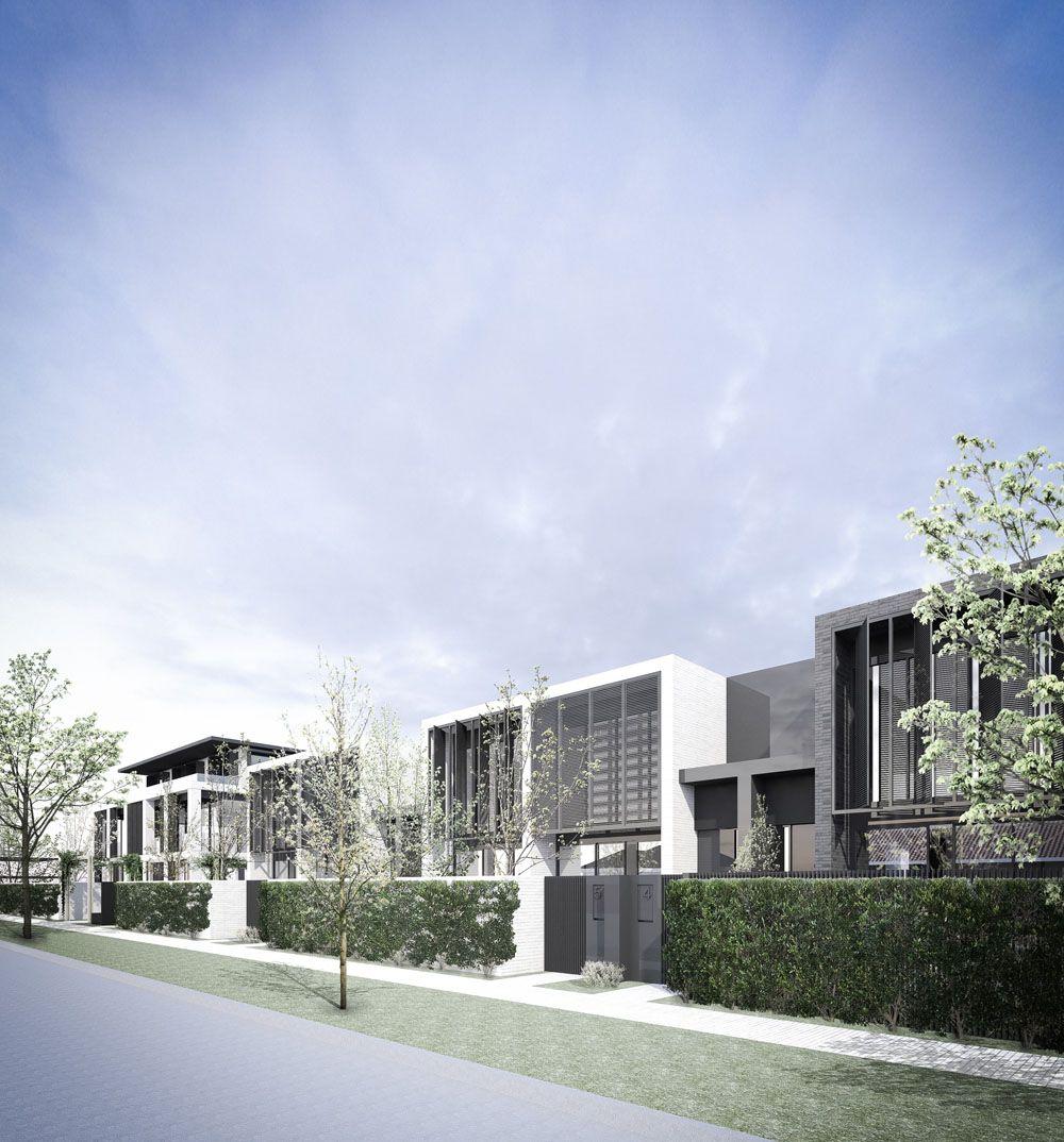 Pin by Hichem Bouzguenda on Résidentiel   Townhouse designs ...