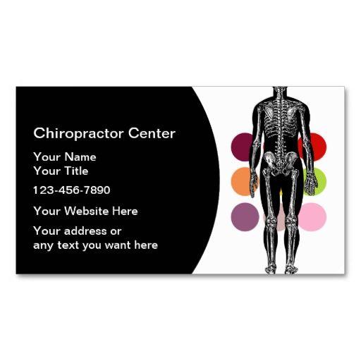 Chiropractor Business Cards Bizcardstudio Co Uk Chiropractors Health Business Business Cards