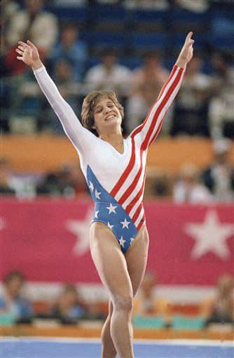 On August 3, 1984 Mary Lou Retton became the first female gymnast from outside of Eastern Europe to win the all-around Olympic title. In 1997 she was inducted into the International Olympics Hall of Fame. Go Mary Lou!