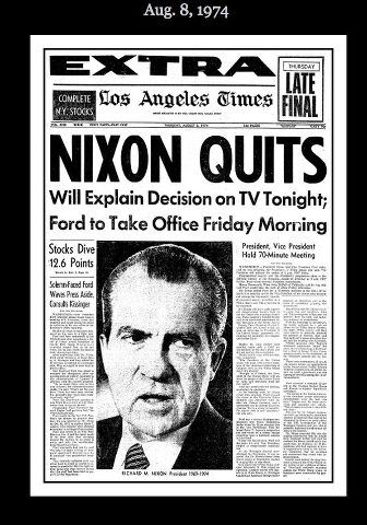 Nixon Was The 37th President Of US During His Term Watergate Scandal Occurred This A Political That Came About As Result