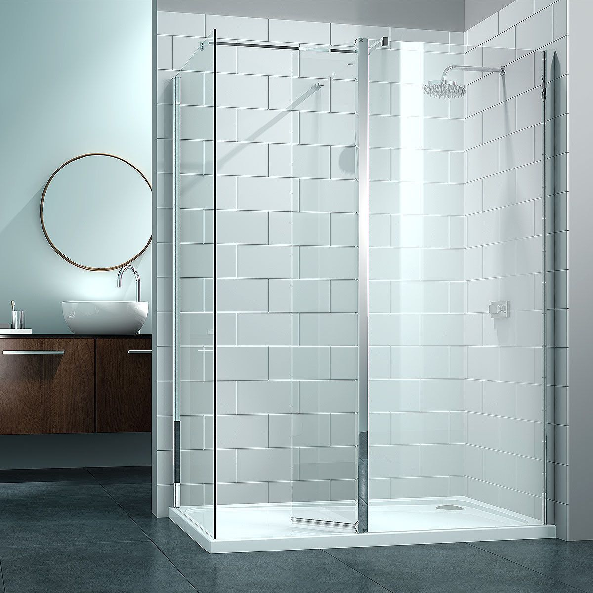 Fancy Splash Guard Shower Screen Ideas - Bathtub Ideas - dilata.info