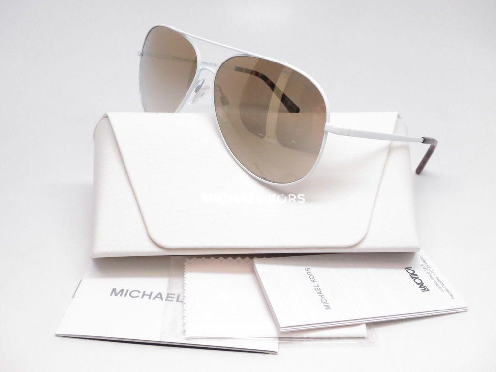 7ed0db095aa Brand   Michael Kors Model Number   MK 5016 Model Name   Kendall I Color  Code   11726E Frame Color   White Lens Color   Gold Mirror Gradient  Polarized