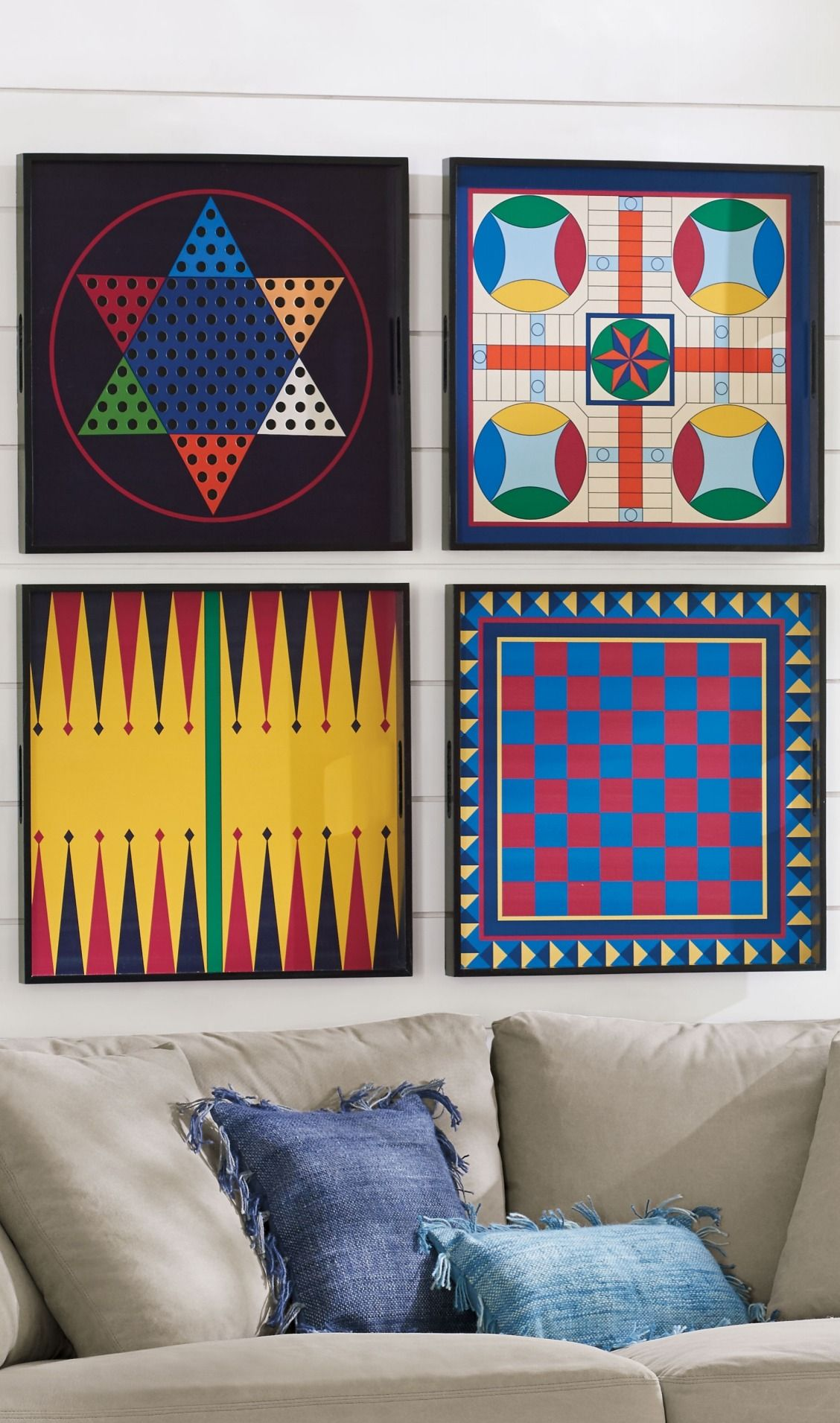 Hang Them As Graphic Art On The Wall Or Actually Play The Iconic