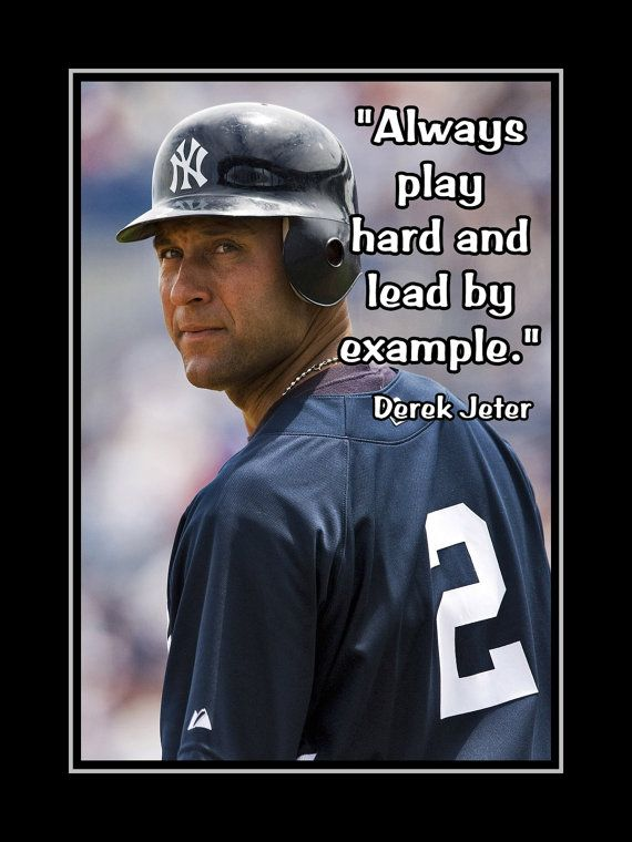 Baseball Motivation Poster, Inspirational Quote Wall Art ...