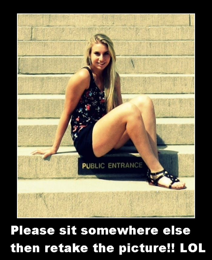 When you see it Wrong place to sit When you see it Wrong place to sit