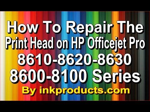 How to repair the HP Officejet Pro 8600,8610,8620,8630,6700,6600