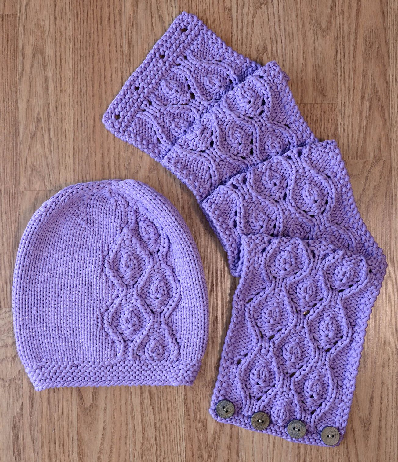 Free Knitting Pattern for Idyll Hat and Cowl Set - Flowing lace ...