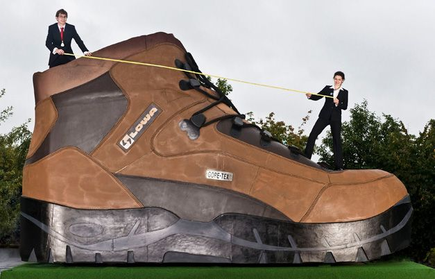 Largest Hiking Work Boot