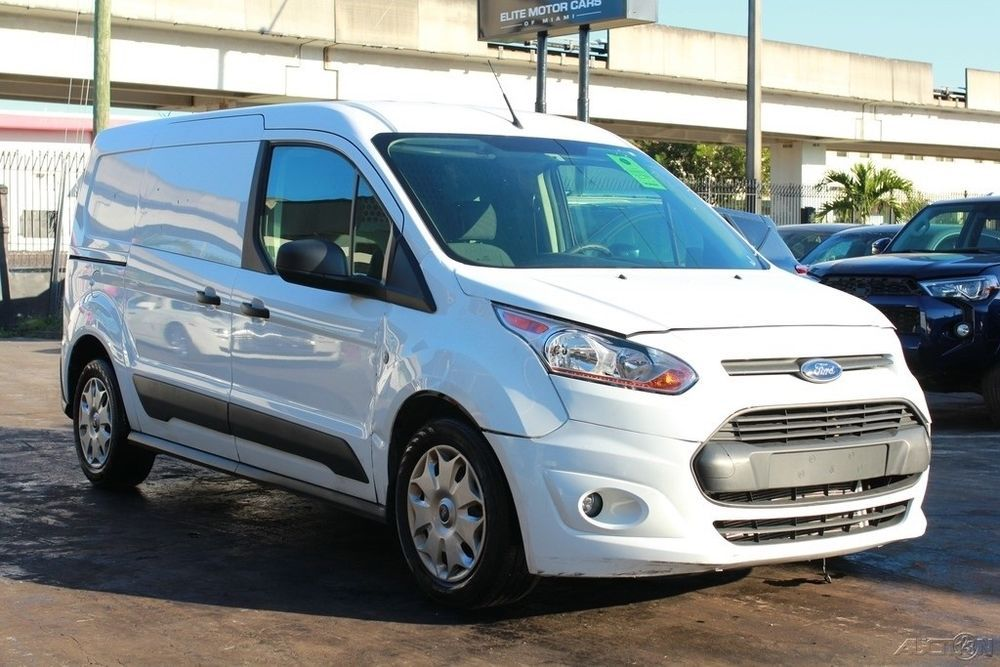 2018 Ford Transit Connect Xlt 4dr Lwb Cargo Mini Van W Rear Doors