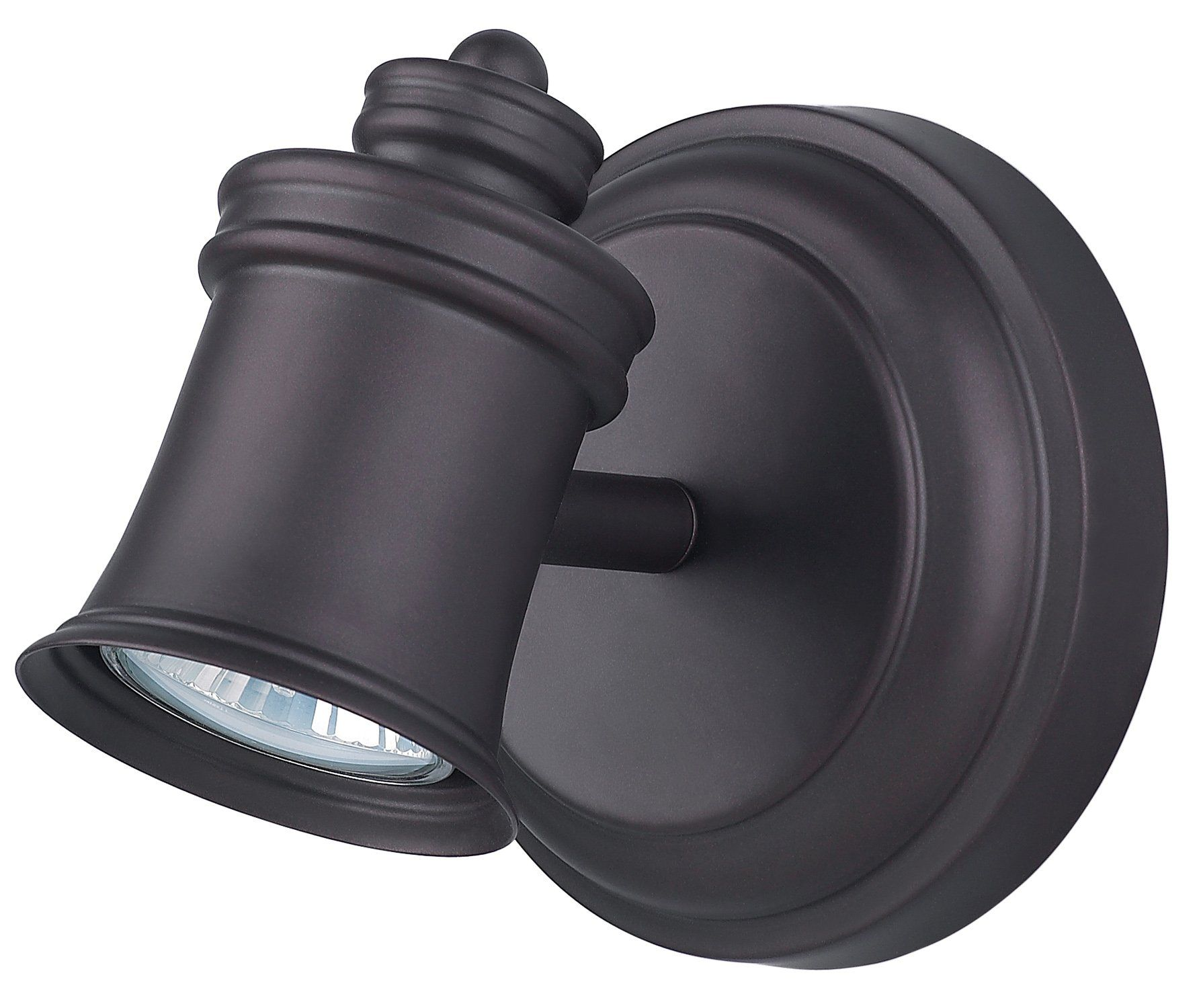 Canarm ICW299A01ORB10 Taylor 1Bulb Wall Mount Track Light