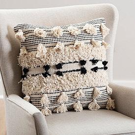 Throw Pillows Decorative Kirklands Tassel Pillow