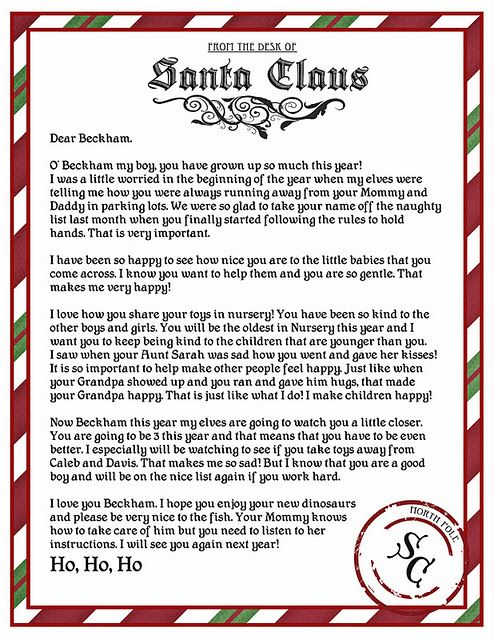 Cute Idea (Grandma does this already - but will keep in mind for - printable christmas list template
