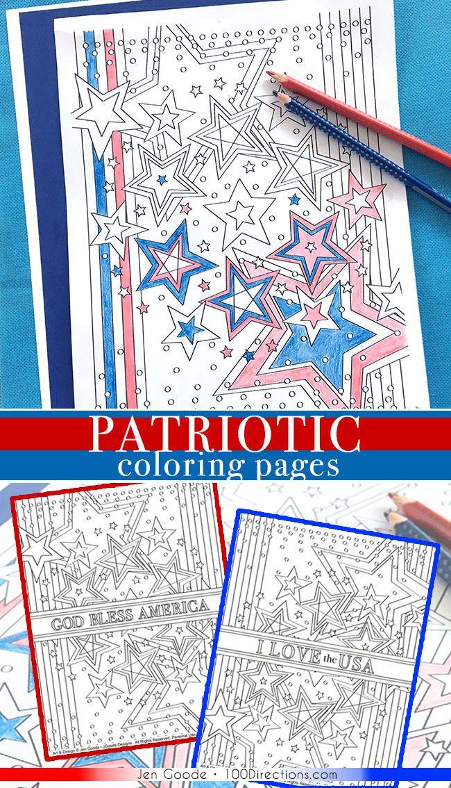 Patriotic Coloring Pages