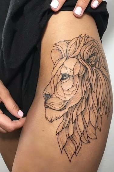 Lion Tattoo For Women : tattoo, women, Tattoos, Women, Women,, Tattoos,