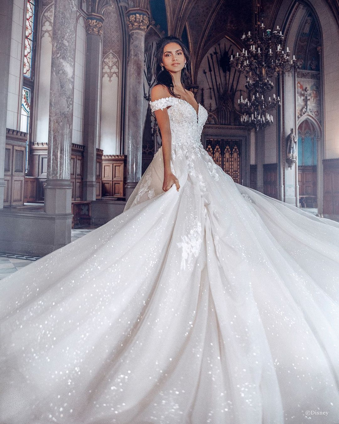 Kleinfeld Bridal On Instagram Live Out Your Happily Ever After In The Belle Disney Princess Wedding Dresses Princess Wedding Dresses Disney Princess Wedding [ 1351 x 1080 Pixel ]